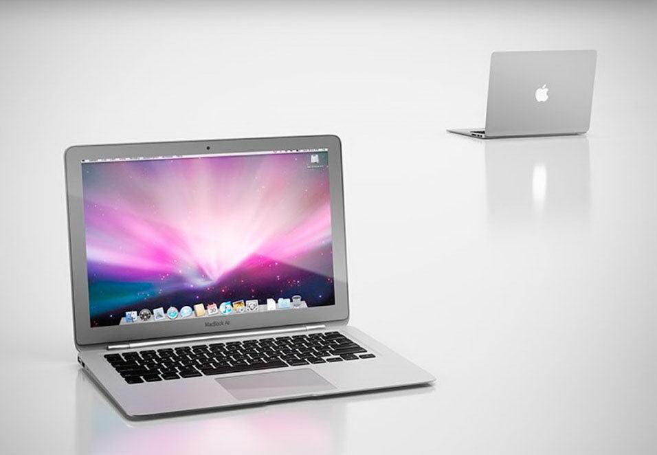 Macbook Air 3D Model