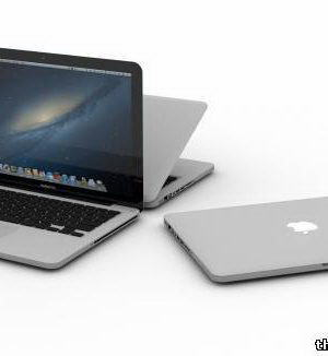 Macbook Pro 13 3D Model