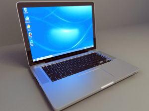 Macbook Pro 15 Free 3D Model