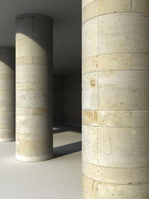 Marble Blocks Columns Texture