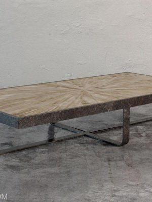 Marble Top Metal Table 3D Model
