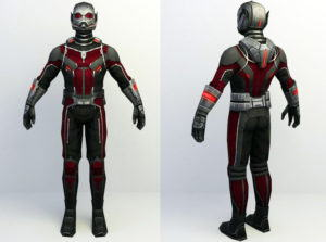 Marvel Antman Free 3D Model