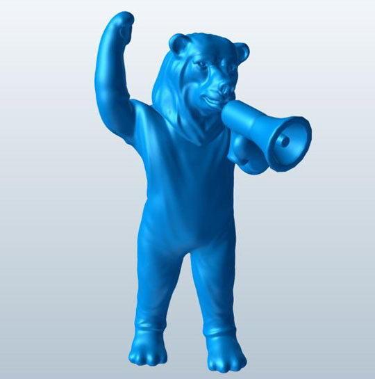 Maskot Animal 3D Model