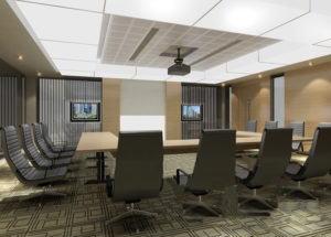 Meeting Room Free Interior Scene 3D Model