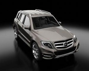 Mercedes-Benz GLK 350 3D Model
