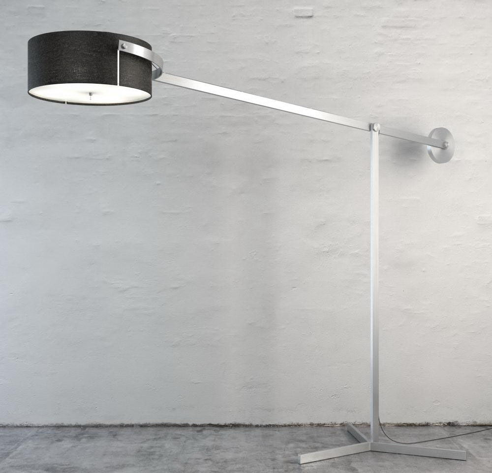 Metal Body Floor Lamp 3D Model