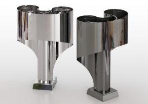 Metal Design Table Lamp 3D Model