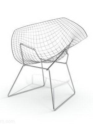 Metal Frame 3D Office Chair