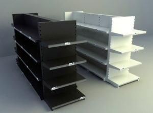 Metal Showcase 3D Model