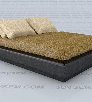 Midnight Visionnaire Double Bed