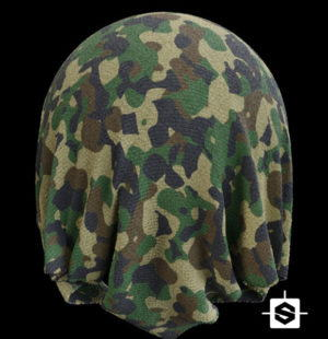 Millitary Fabric Free 3D Texture
