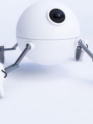 Mini Robot 3D Model