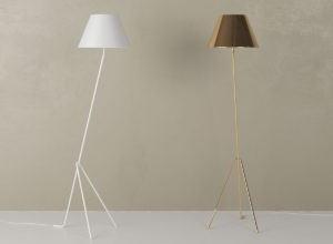 Minimal Decorative Floor Lamp 3D Model