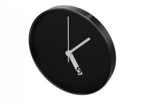 Minimalist Wall Clock 3D Model