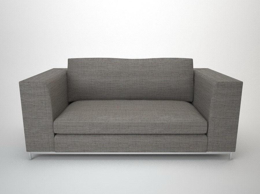 Minotti Double Sofa 3D Model