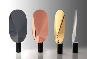 Mirror Design Table Lamp 3D Model