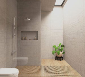 Modern Bathroom Interior Design 3D Scene