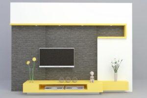 Modern Decorative 3D Tv Pannel