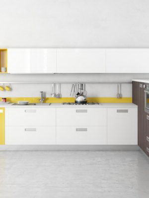 Modern Design Kitchen 3D Model