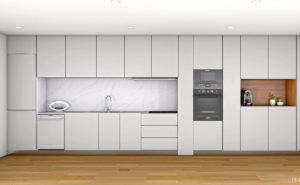 Modern Kitchen Design 3D Model