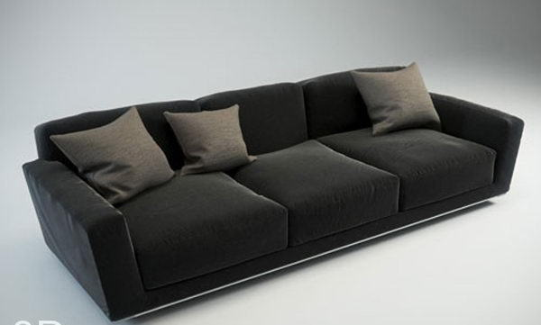 Strange Modern Leather Sofa 3D Model Free C4D Models Dailytribune Chair Design For Home Dailytribuneorg
