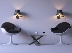 Modern Living Room Concept 3D Model