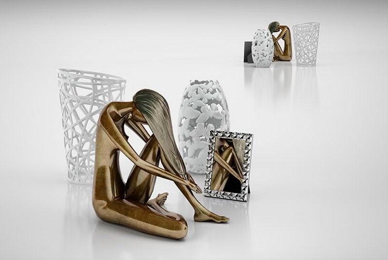 Modern Sculpture 3D Model