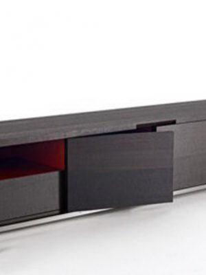 Modern Wooden Tv Stand 3D Model