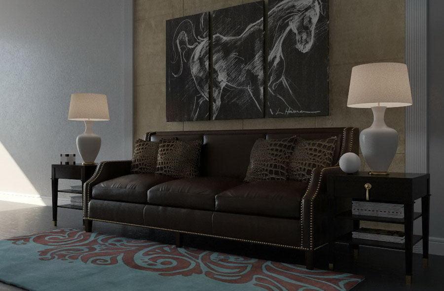 Modern Living Room Scene for Cinema 4D