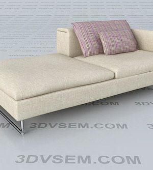 Modular Couch 3D Model