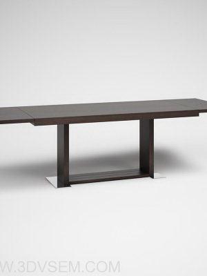 Moduler Wooden Table 3D Model