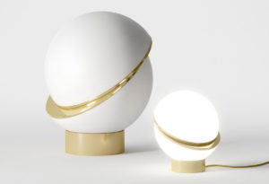 Moon Design Table Lamp 3D Model