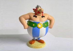 Obelix Character 3D Model