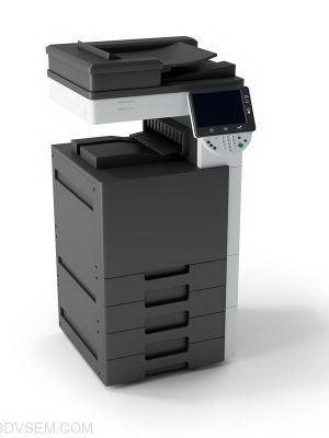 Office Copy Machine 3D Model