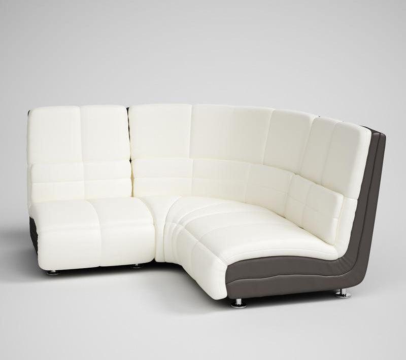 Office Corner Sofa 3D Model