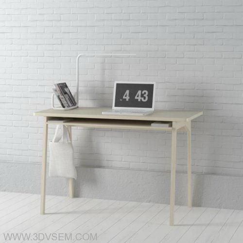 Office Furniture 3D Model Pack 17 - Free C4D Models