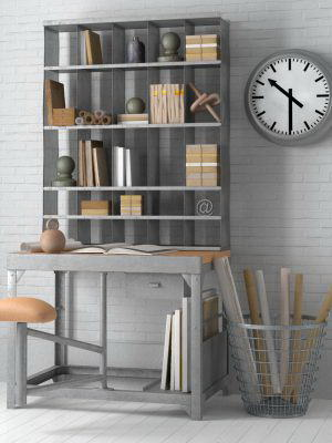 Office Furniture 3D Model Pack 5