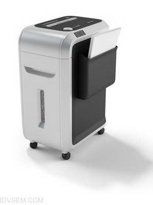 Office Type Paper Shredder 3D Model