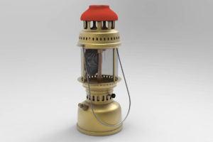 Oil lamps Free 3D Model