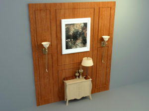 Old Wood 3D Wall Panel