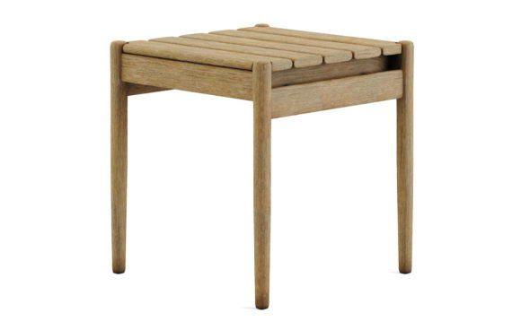Old Wood Side Table 3D Model