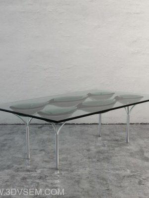 Original Glass Table 3D Model