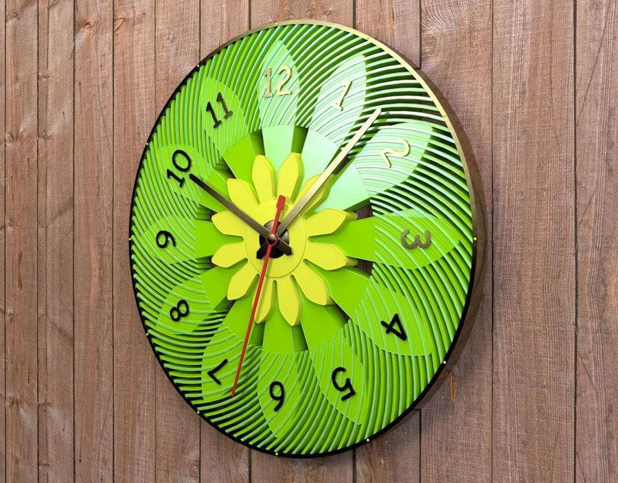 Outdoor Clock 3D Model