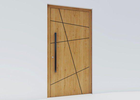 Outside Panel Door 3D Model