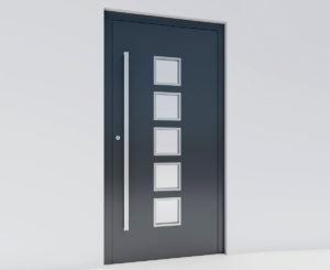 Panel Door Free 3D Model