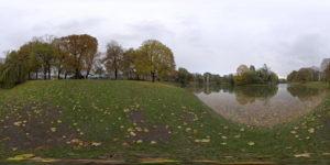 Park in Spring Free HDRI
