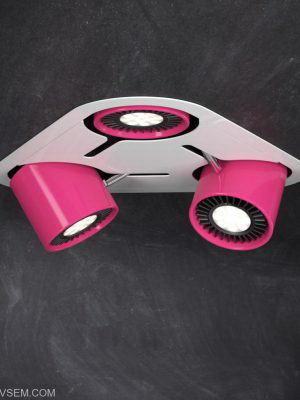 Pink Ceiling Lamp 3D Model