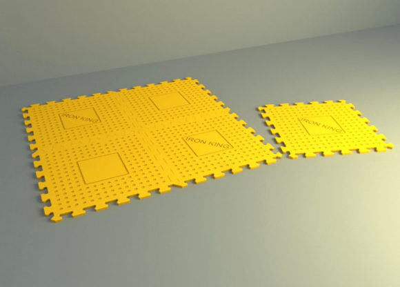 Plastic Lego Carpet Free 3D Model