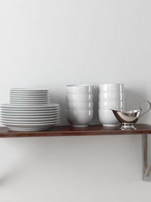 Plate, Cups, Bowl 3D Model
