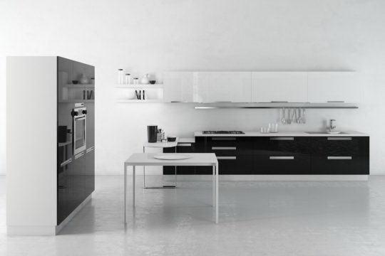 Professional Modern Kitchen Design 3d Model Free C4d Models